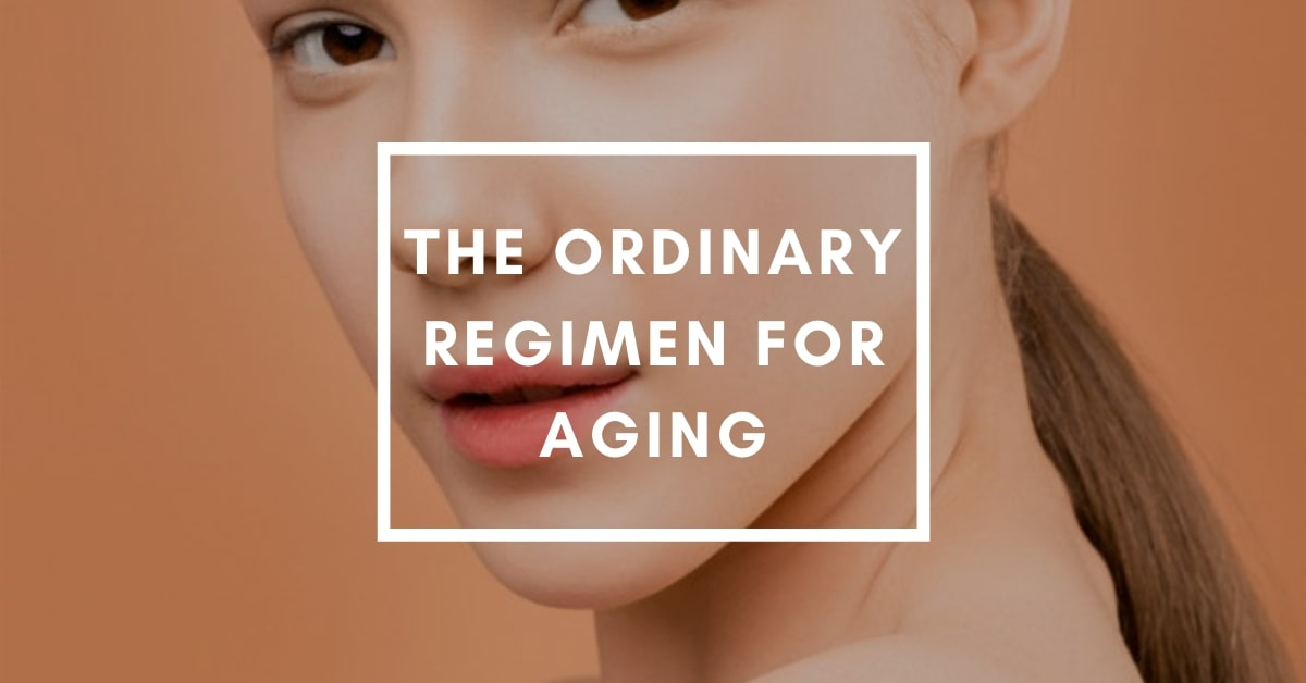 The Ordinary Regimen For Aging